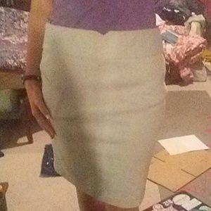 Soft and Elegant Pencil Skirt
